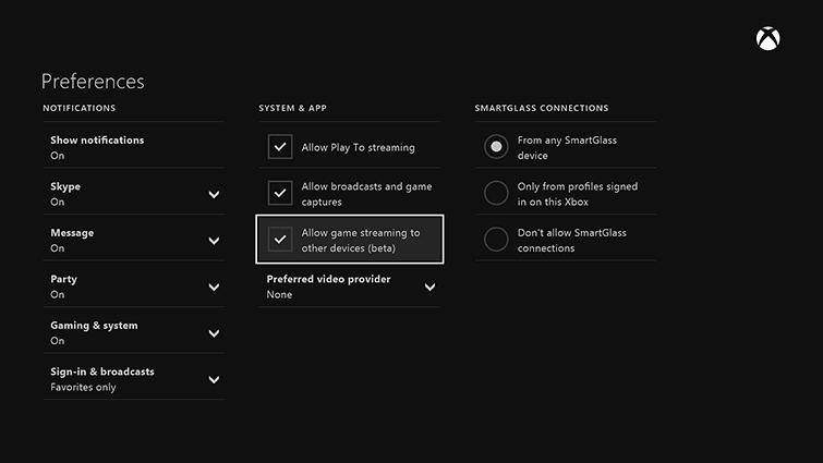 Usa el dispositivo Surface como segunda pantalla remota para jugar a los juegos de Xbox One. 1