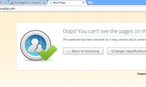 Angel DNS: Bloquear sitios web inseguros y contenido inapropiado