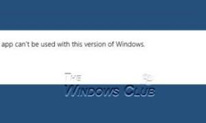 Corrección: La aplicación Camera no se puede usar con esta versión de Windows.