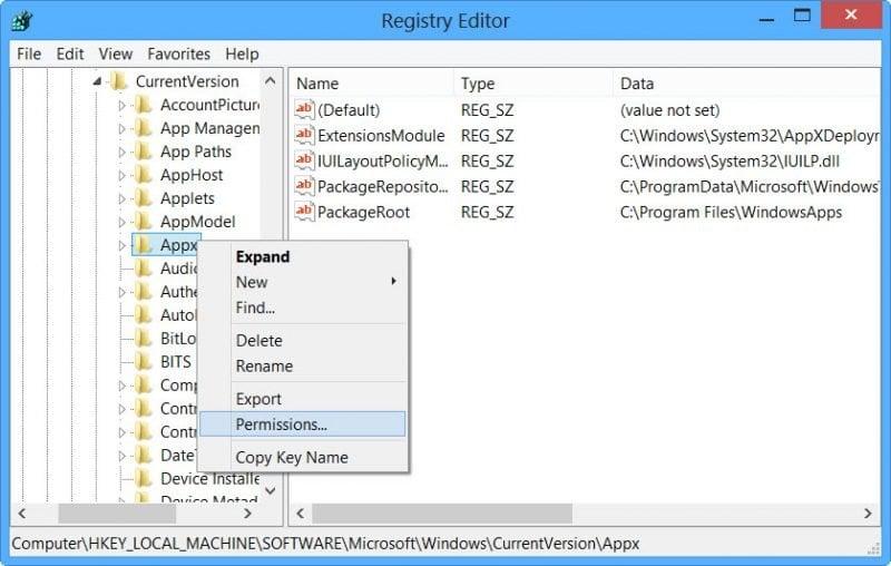 Cambiar la ubicación de instalación predeterminada de Windows 8 Store Apps