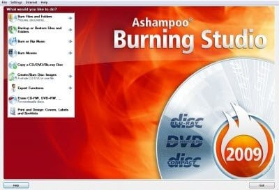 Descargar Ashampoo Burning Studio y otros programas Ashampoo gratis