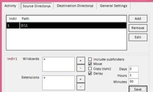 Automatice la copia y el movimiento de archivos y carpetas con atmfiler