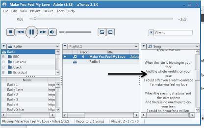 aTunes : Reproductor de audio gratuito, administrador de música y radio para Windows