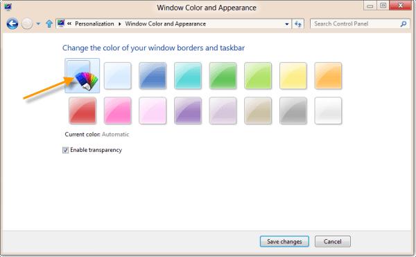 Cambiar pantalla de bloqueo, pantalla de inicio, personalizar el escritorio en Windows 8