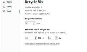 Eliminar automáticamente los archivos de la carpeta Descargas y la Papelera de reciclaje después de 30 días en Windows 10.