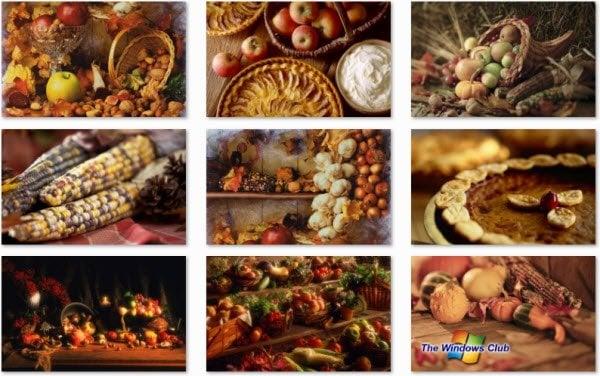 Disfrute de este tema de Windows 7 Autumn Bounty de Microsoft