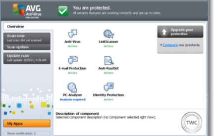 Lanzamiento de AVG Free 2012 AntiVirus para Windows
