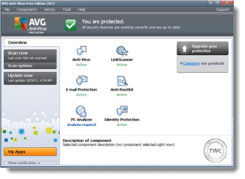 Lanzamiento de AVG Free 2012 AntiVirus para Windows