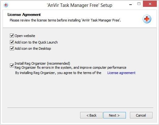 AnVir Administrador de tareas gratuito: Alternativa al Administrador de tareas de Windows 9