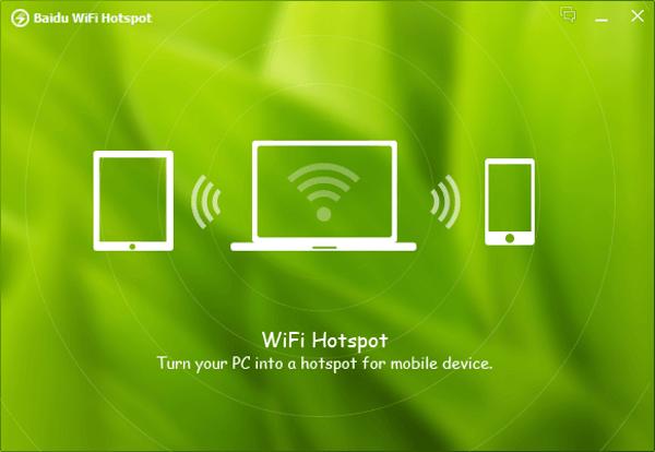 Crea tu propio punto de acceso Wi-Fi con la aplicación Wi-Fi Hotspot de Baidu