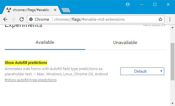 Mejores ajustes de Chrome Flags para una mejor experiencia del usuario