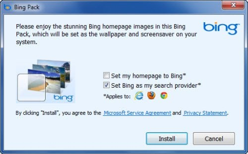 Descargar Bing Wallpaper Pack de Microsoft