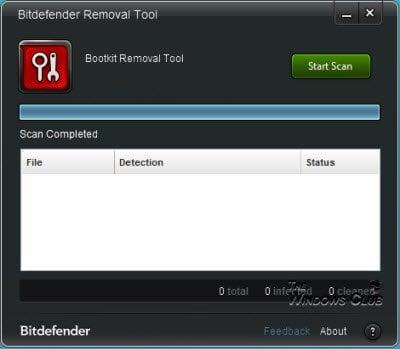 Bitdefender Rootkit Remover para Windows liberado