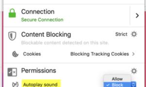 Cómo silenciar o desactivar el sonido en la reproducción automática de vídeo en cualquier sitio web