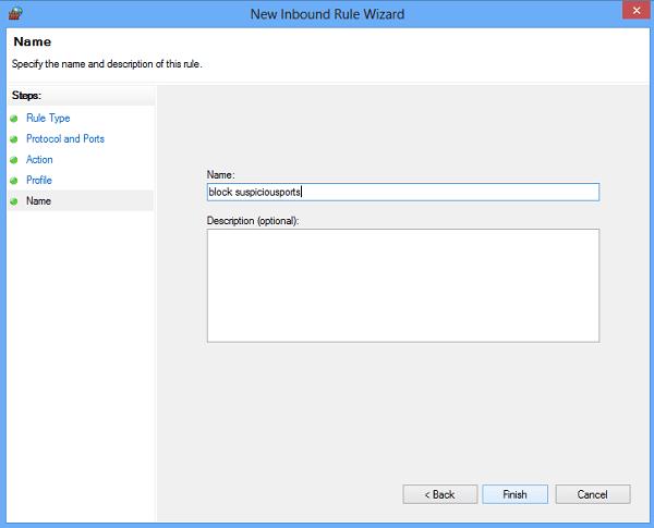 Cómo bloquear o abrir un puerto en el Firewall de Windows