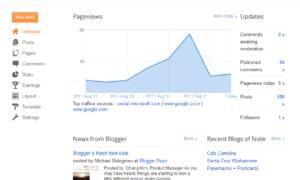 El Blogger de Google recibe un cambio de imagen: Controle y haga crecer su audiencia de un vistazo