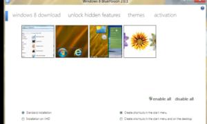 Desbloquear Moonrea, una característica oculta de Windows 8, utilizando BluePoison