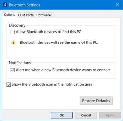 Cómo activar y usar Bluetooth en Windows 10 3
