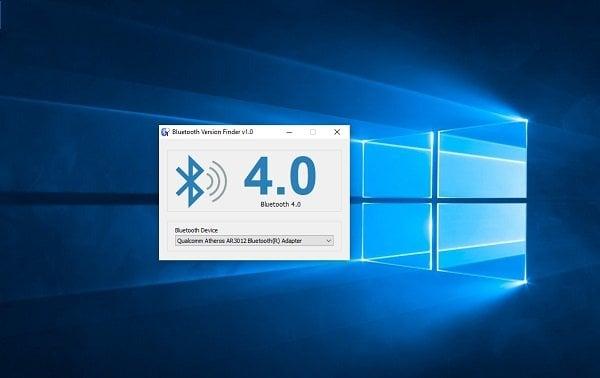 Cómo comprobar la versión del Adaptador Bluetooth en Windows 10