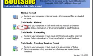 Cómo reiniciar directamente en Modo a prueba de fallos en Windows 10/8/7