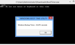 Medir el tiempo de arranque en Windows 10/8/7 con el temporizador de arranque de Windows