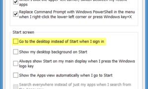 Arrancar directamente al Escritorio en Windows 8.1