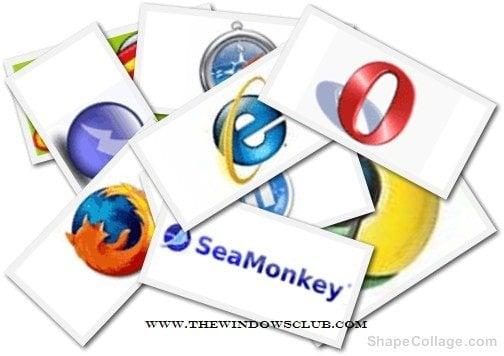 Lista de navegadores alternativos para Windows