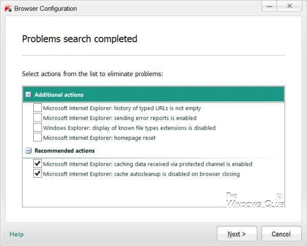 Revisión de la seguridad en Internet de Kaspersky 12