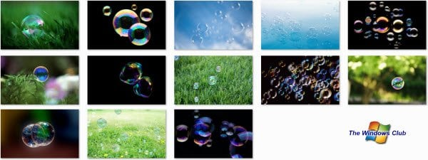 Este nuevo tema de Windows 7 es todo sobre Burbujas!