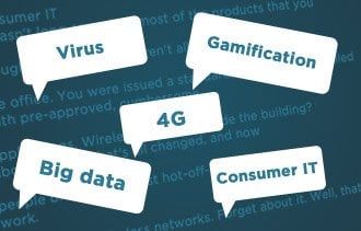 Palabras de moda populares de informática, tecnología y TI de 2014