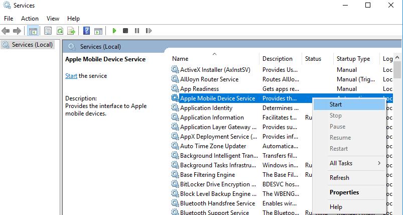 No se pueden importar fotos de iPhone a Windows 10 PC 3