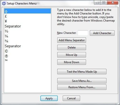 Insertar Unicode y caracteres especiales en documentos rápidamente con CatchCar