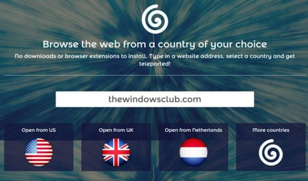 Cómo cambiar y navegar con IP desde otro país de su elección