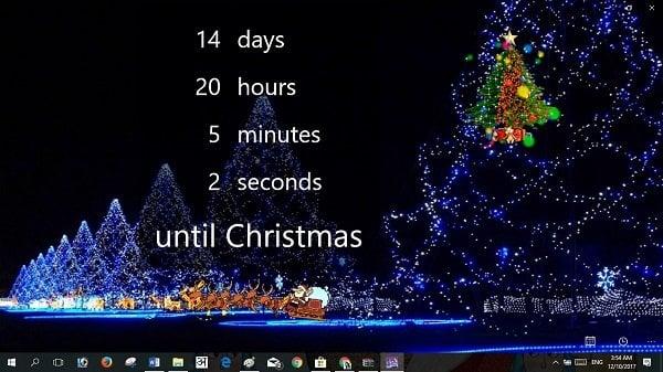 Temas de Navidad de Windows 10, Fondos de Pantalla, Árbol, Salvapantallas, Nieve y más!