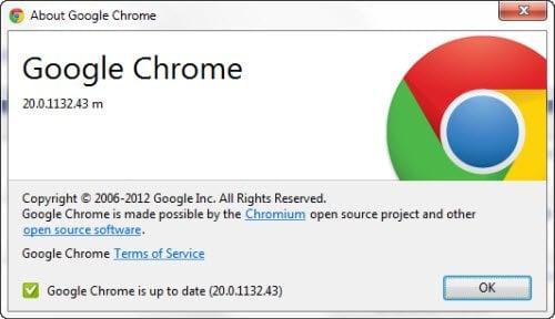 Descargar Google Chrome 20 Stable Version para Windows