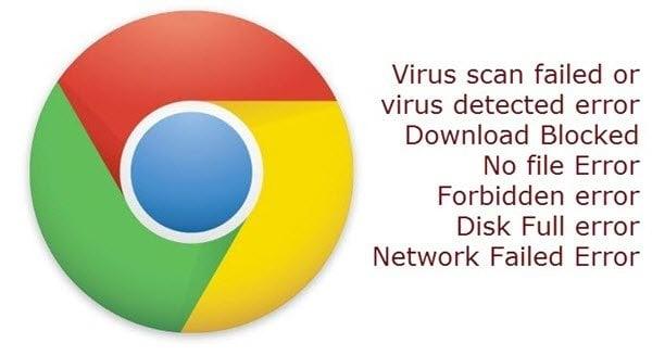 Cómo corregir errores de descarga de archivos en el navegador Google Chrome 1