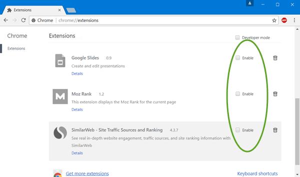 Cómo ejecutar el navegador Chrome en modo incógnito o modo seguro
