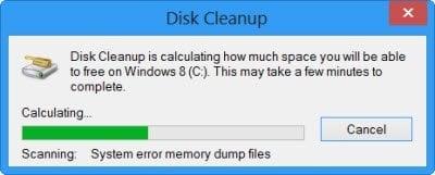 Automatice el funcionamiento de la herramienta mejorada de Liberador de espacio en disco en Windows 10/8/7 4