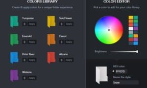 Software gratuito para cambiar el color de los iconos de las carpetas en Windows 10