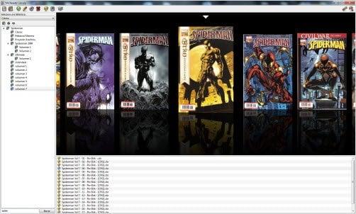 YACReader: Un lector de cómics; soporta múltiples formatos de archivos e imágenes de cómics