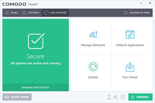 Comodo Firewall Review - Cortafuegos gratuito para PC con Windows