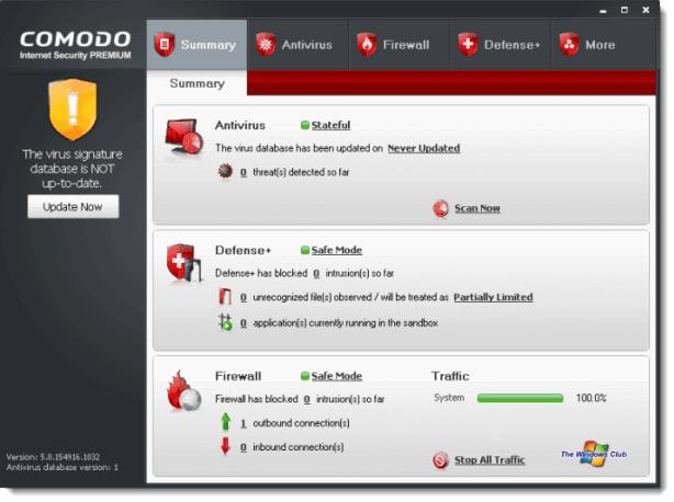 Comodo Internet Security: Software de seguridad gratuito de varias capas para Windows