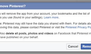 Elimina las aplicaciones de terceros en las que hayas utilizado Facebook para iniciar sesión.