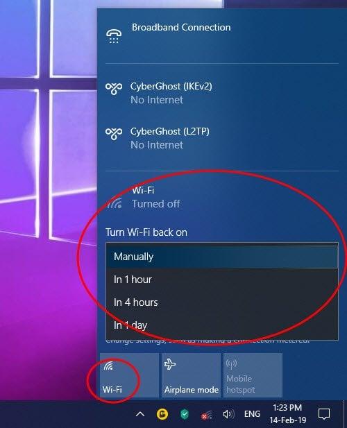 Cómo configurar una conexión a Internet en Windows 10 3