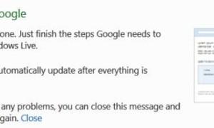 Conectar una cuenta de Google a una cuenta de Windows Live