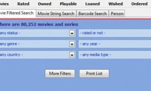 Gestione y personalice su colección de películas con la base de datos de películas de Coollector