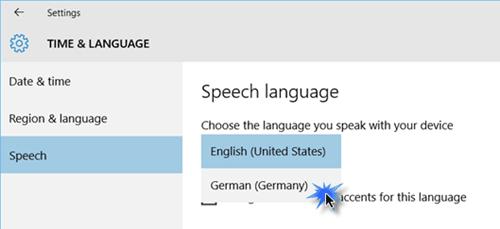 Cambiar el idioma de Cortana en Windows 10