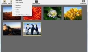 Cree una presentación de diapositivas con el software 4K Slideshow Maker