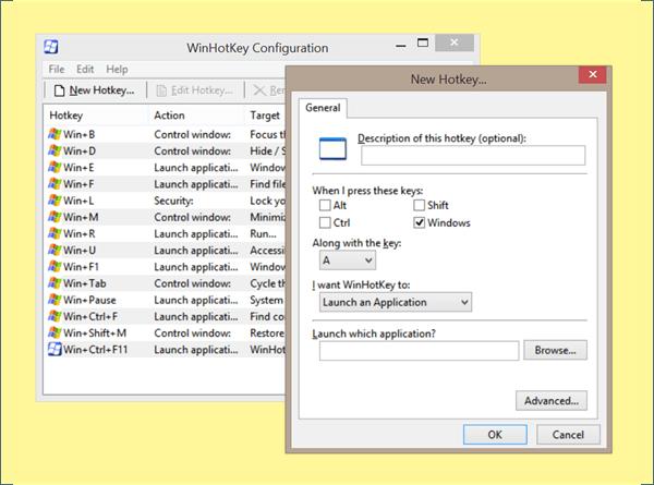 Accesos directos de WinKey y cómo crear los suyos propios, en Windows 10/8/7