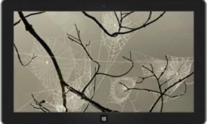 Creepy Cobwebs tema de Halloween para Windows 8 y Surface lanzado